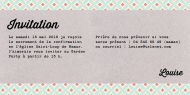 Invitations 164716BFA